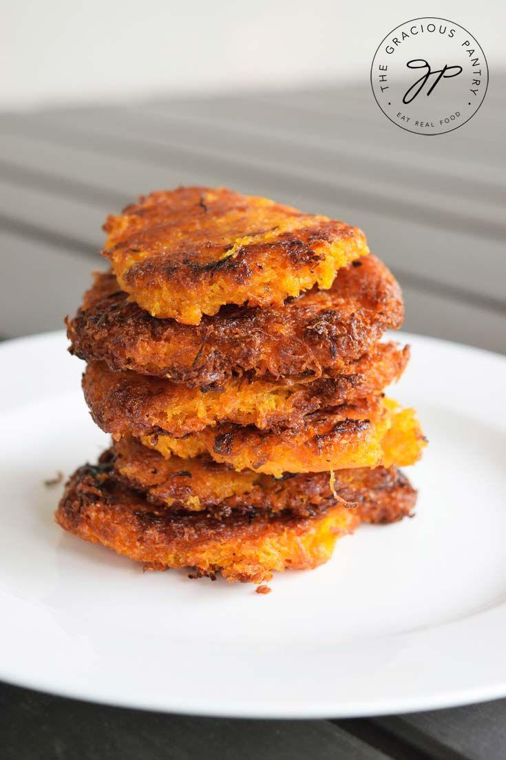 Clean Eating Recipes   Hash Browns Recipe   Sweet Potato Hash Browns   Breakfast Recipes ~ https://www.thegraciouspantry.com