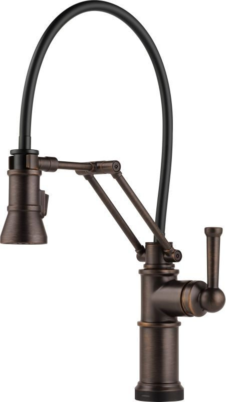 Delicieux Brizo 64225LF Artesso Pull Down Kitchen Faucet With Dual Jointed  Articulating Ar Venetian Bronze Faucet