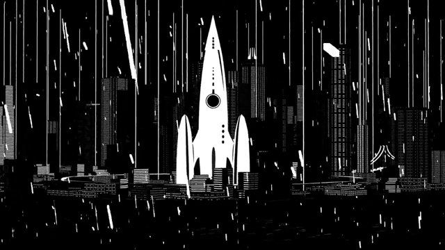 Driven by their musical composition , Gabriel Aldama (artistic director) and Pierre-Guilhem Roudet (Motion designer)- the duo from Montreal - is revealing its  2D/ 3D animation video. A short odyssey through space.  The result is a sci-fi/retro comics style video. Thus the viewer can press pause at any moment and admire one of the 24 images/second for what it is : an image.      Porté par l'une de leurs compositions musicales planantes, le duo montréalais Gabriel Aldama (directeur…