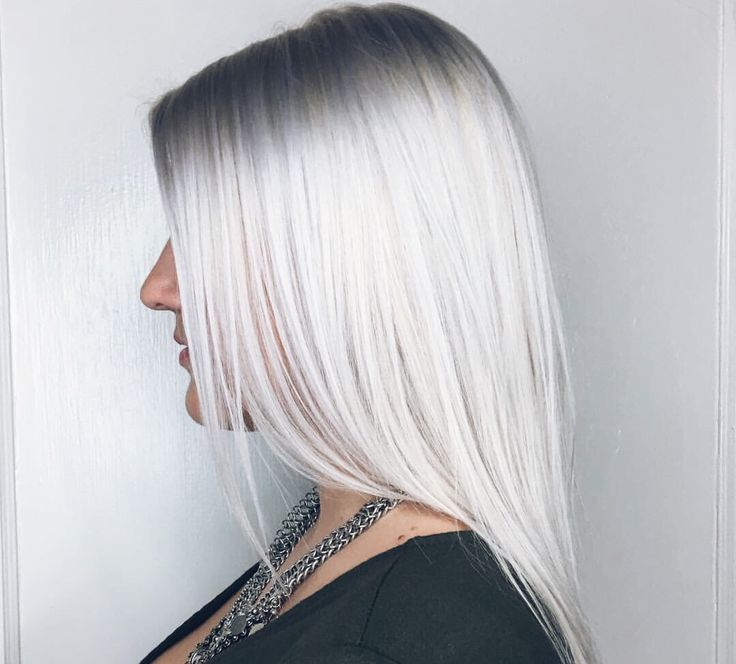 Ice Blonde Silver Hair Using Wella T18 Hair Pinterest Wella T18 Ice Blonde And Silver Hair