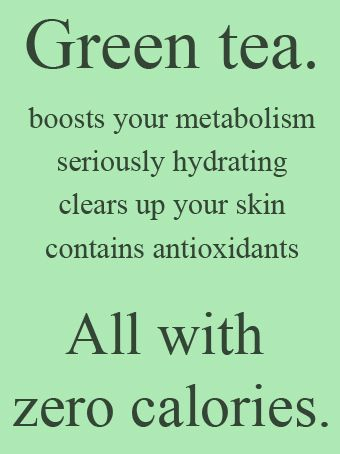 Health benefits of drinking green tea - loaded with antioxidants!