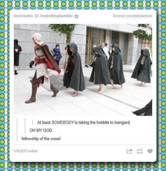 Assassin's Creed + Hobbits