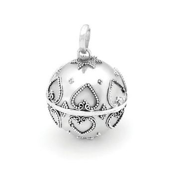 Harmony Ball - HEARTS - Bella Donna Sterling Silver