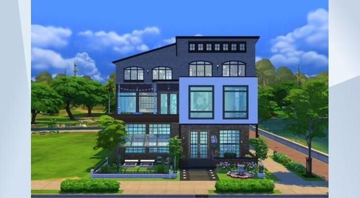 Boston Pike Creek | Residential | 30x20 | by sueladysims | - #SueladyRealEstate™News: This is a #fixerupper of my 1st build in Sims4 *-* Simply still luv the structure but it needed an upgrade. Now a perfect #luxury#modern #industrial#loft 4 a #family who care about#parenthood 1st: Kitchen+ Living+Hallway#Bath  2. Masterbed #office#karaoke#music  Rooftop;#kids#lounge#bbq #basketball.Basement:#gym#pool#bar#djbooth#sauna #hottube. Fancy huh?#gardening#brick#openplan. Value 4 money! Purchase…