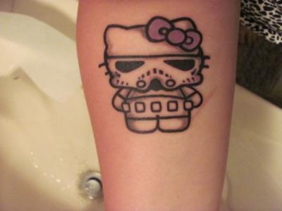 Hello Kitty Stormtrooper