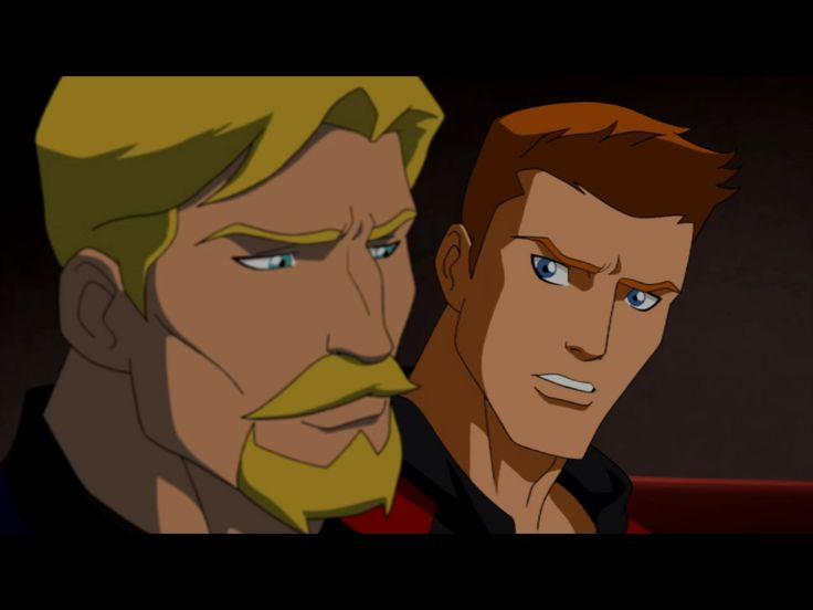 Season 1 Episode 8 Satisfaction: Green Arrow (Ollie) & Red ...