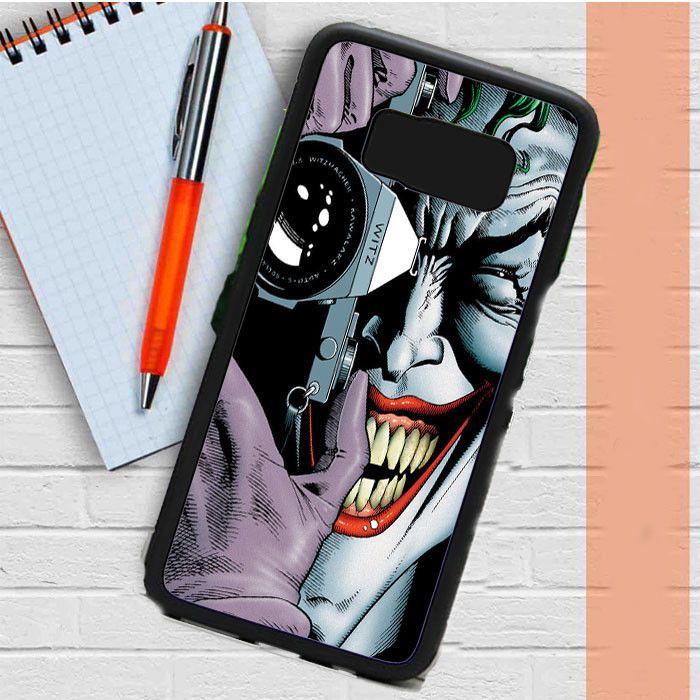 Joker Batman Samsung Galaxy S8 Plus Case Dewantary