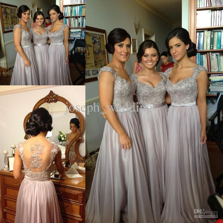 Best 25+ Silver grey bridesmaid dresses ideas on Pinterest | Grey ...