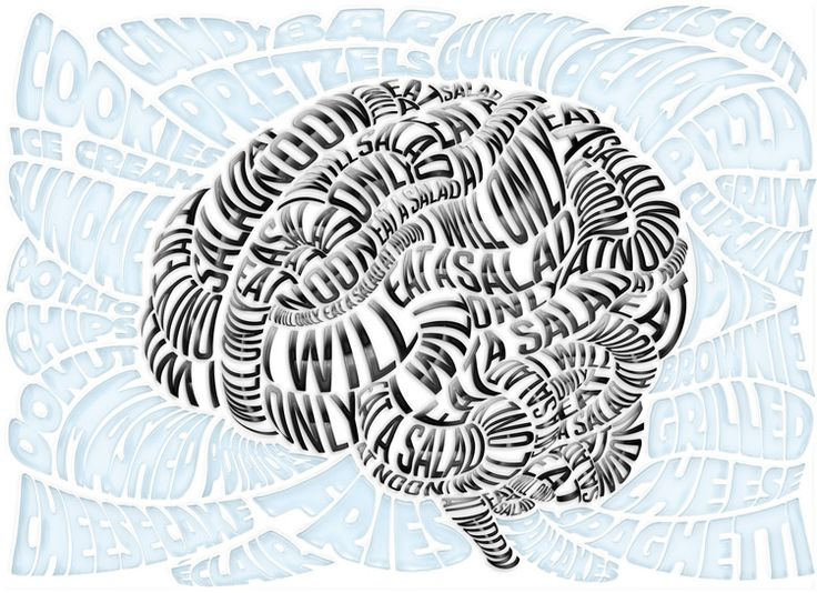 The Anorexic Brain – Science News - Luke Lucas – Typographer | Graphic Designer | Art Director