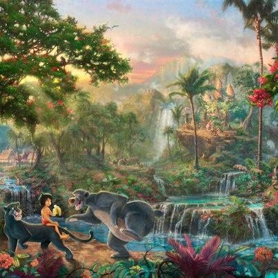 Thomas Kinkade's The Jungle Book