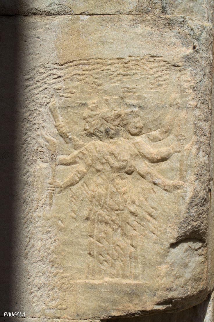 Relieve en la Biblioteca de Celso. Éfeso. Turquía