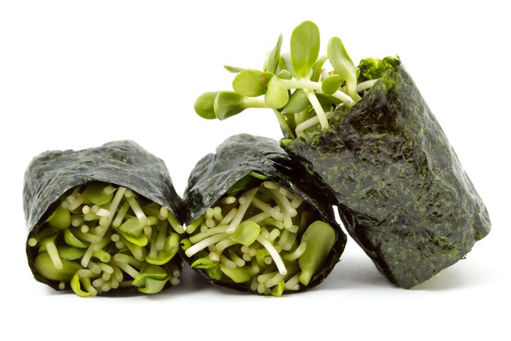 Reboot Sushi Wraps – Veggie Dish | Reboot With Joe.....also try nori wrapped with alfalfa sprouts, apple slices and avocado....one of my personal favorites.