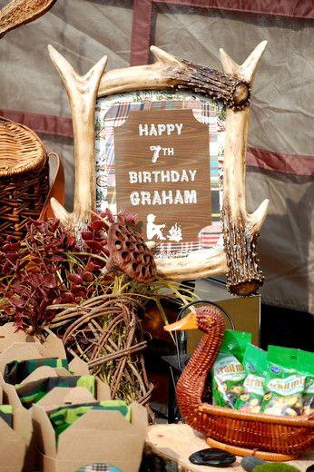 CampingWoodsy  Birthday Grahams Backyard Camping Party