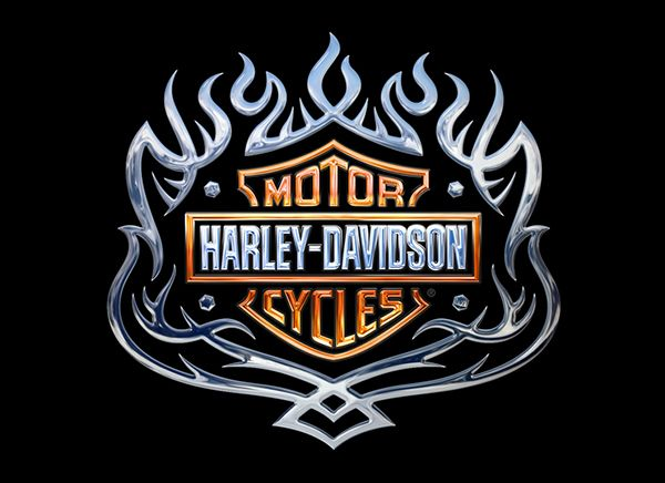 Harley Davidson Emblems On Behance Decoupage Prints