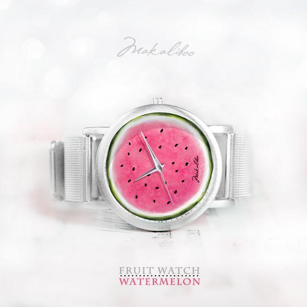 Fruit Watch - Watermeloon w Makaliboo na DaWanda.com