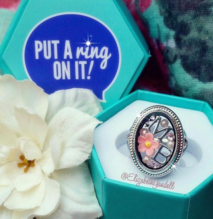 Origami Owl. Locket Ring! www.CharmingLocketsByAline.OrigamiOwl.com