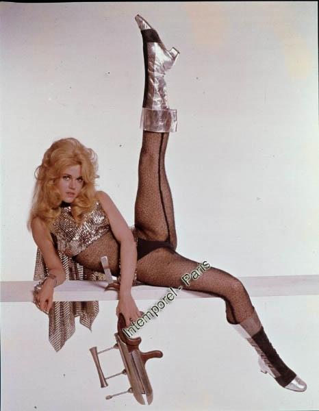 It's Barbarella's 45th anniversary! Training for later aerobics? www.Barbarellesque.com