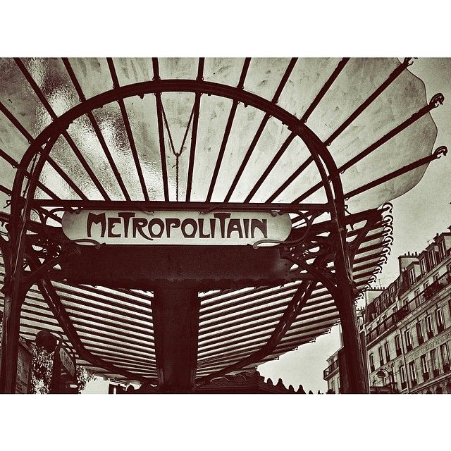 #Paris, metropolitain.