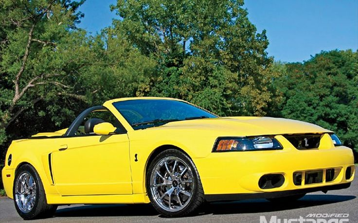 1997 Ford Mustang Cobra Racecar P0456 Ford Ford Obd
