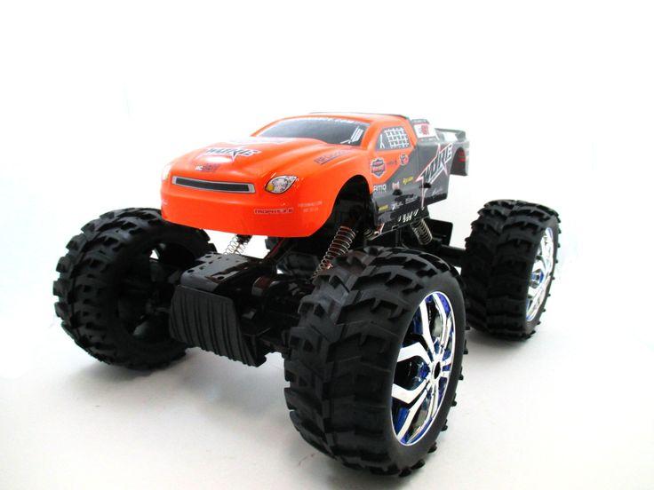 """15"""" 1:10 RC Crawler King 4WD Radio Control MC07A Orange"""