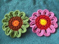 Blumentagesdecke häkeln, Tutorial