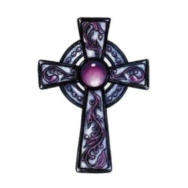 Tatouage croix celtique décorée