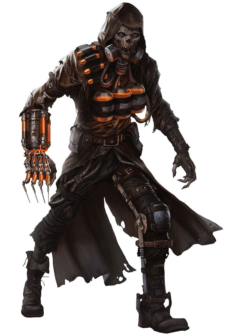 Scarecrow for Batman Arkham Knight Game