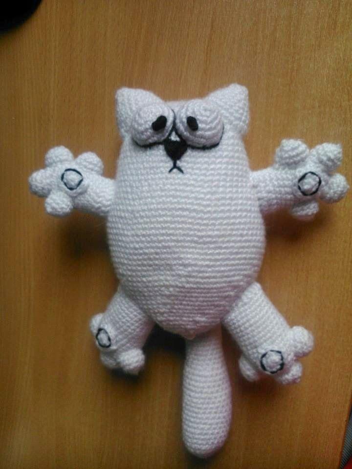 simon's cat kot simona amigurumi crochet