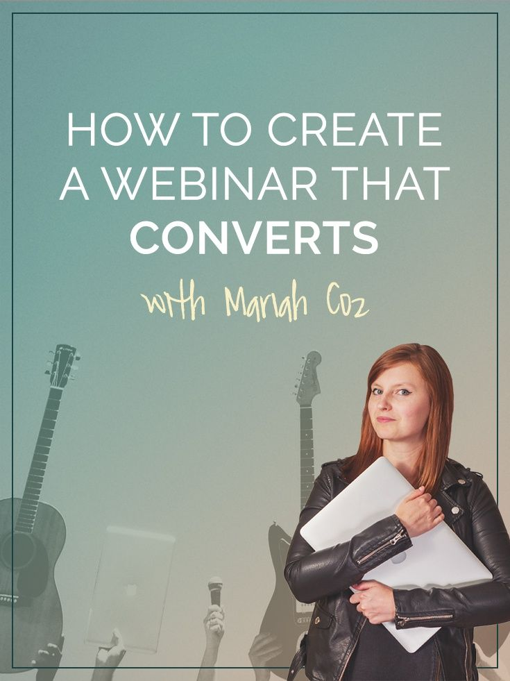 Webinars are a high converting event that are perfect for launching, growing and marketing online courses. Mariah Coz is a master of the medium, so we sat down with her to bring you the best tips and tricks for developing webinars that convert.