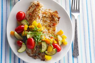 Fast Fish Skillet recipe: Seafood Recipes, Fish Recipes, Skillet Recipe, Healthy Eating, Diabetic Recipe, Fish Skillet, Healthy Food, Tilapia Recipe