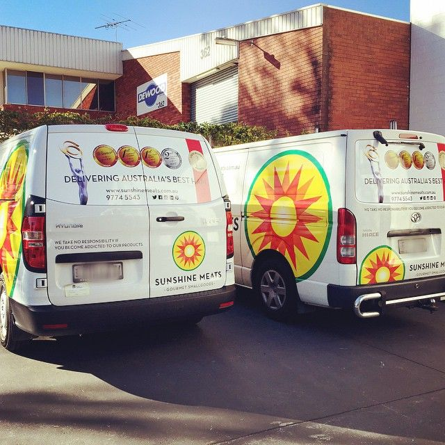 The #sunshine #fleet is finally here! Snap a pic of our stunning new vans and share where you've seen our fleet using #drivingsunshine!  #deli #cafe #portuguese #charcuterie #smallgoods #drive #shutupanddrive