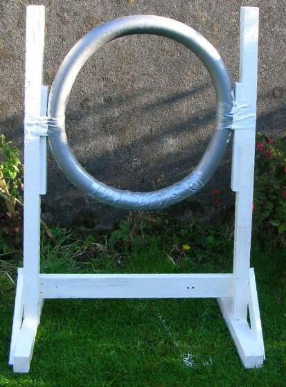 Daily Diy Pet Pattern Build An Agility Tire Jump With A