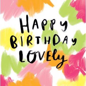 Die frohe Botschaft – alles Gute zum Geburtstag   – Cards