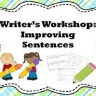 These worksheets were originally designed for students who struggle with written expression – students who have a hard time writing complete senten...