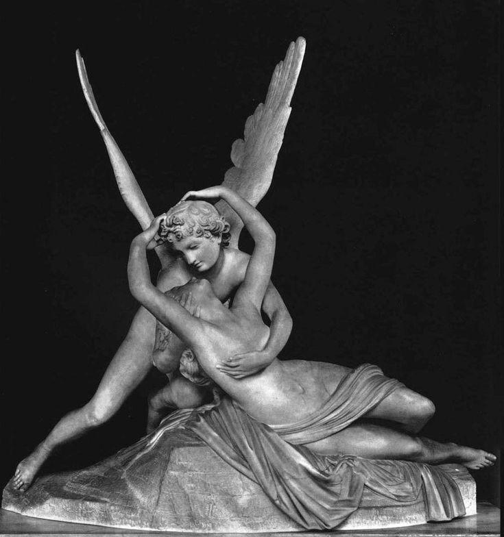 Amore e Psiche, 1798-1793, marmo, Luovre, Parigi