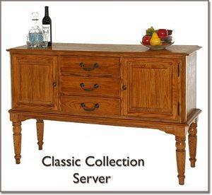 68220 Classic Oak 54 Server