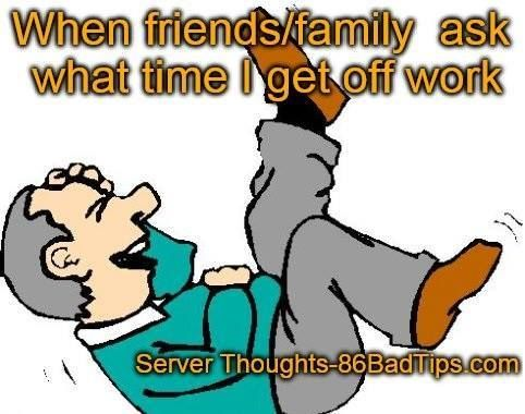 137 best work images on Pinterest Server humor, Server life and - how to call out of work