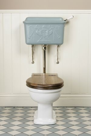 low level cistern water closet
