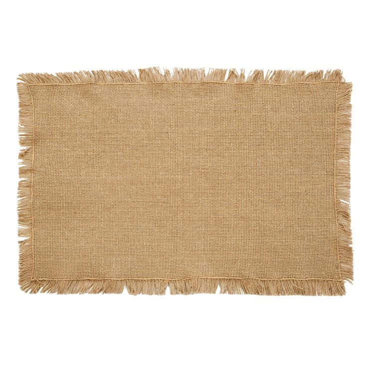 Burlap Natural Placemats