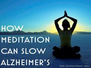 A recent study from Beth Israel Deaconess Medical Center has shown that meditation and yoga may play a role in slowing the progression of Alzheimer's disease and other dementias. The group who meditated and practiced yoga at least two hours per week has less atrophy in the hippocampus and better brain connectivity than the control group.