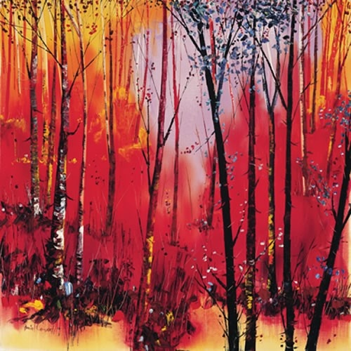 Art Prints Gallery - Birch and Reds (Limited Edition), £225.00 (http://www.artprintsgallery.co.uk/Daniel-Campbell/Birch-and-Reds-Limited-Edition.html)