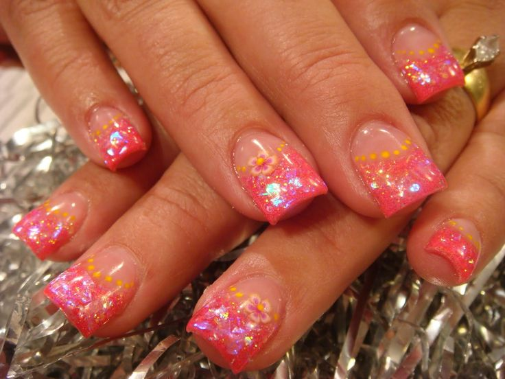 Top 25+ best Acrylic nail designs pictures ideas on Pinterest | Flower toe  designs, Nail art pictures and Toe nail des - Top 25+ Best Acrylic Nail Designs Pictures Ideas On Pinterest