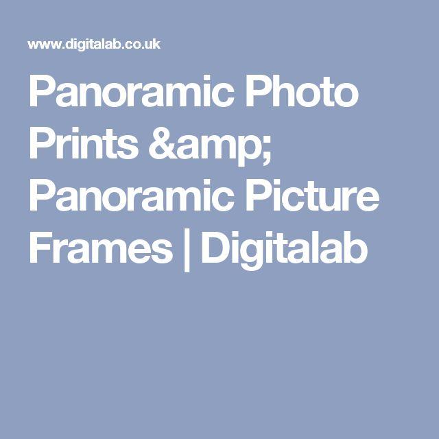 Panoramic Photo Prints & Panoramic Picture Frames | Digitalab