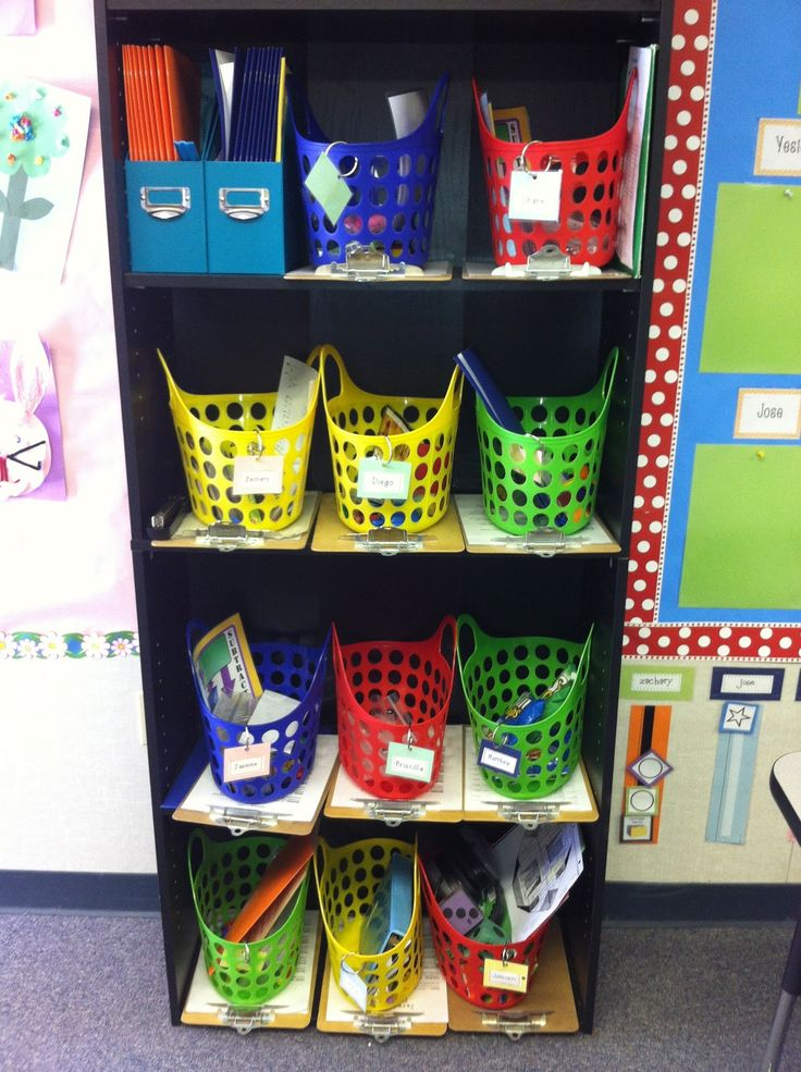The Adventures of Room 83: IEP Tubs... Would be good to have in regular classroom for when they are in there