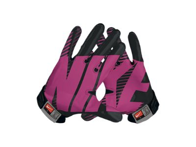 breast cancer awareness football gloves