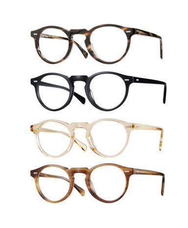 Oliver Peoples Gregory Peck frames