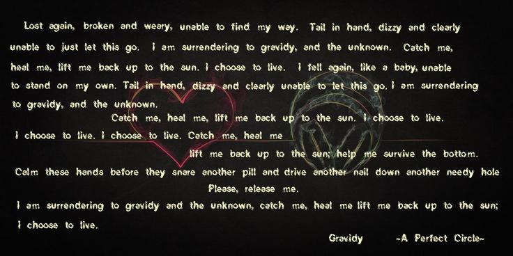 gravity of love lyrics: