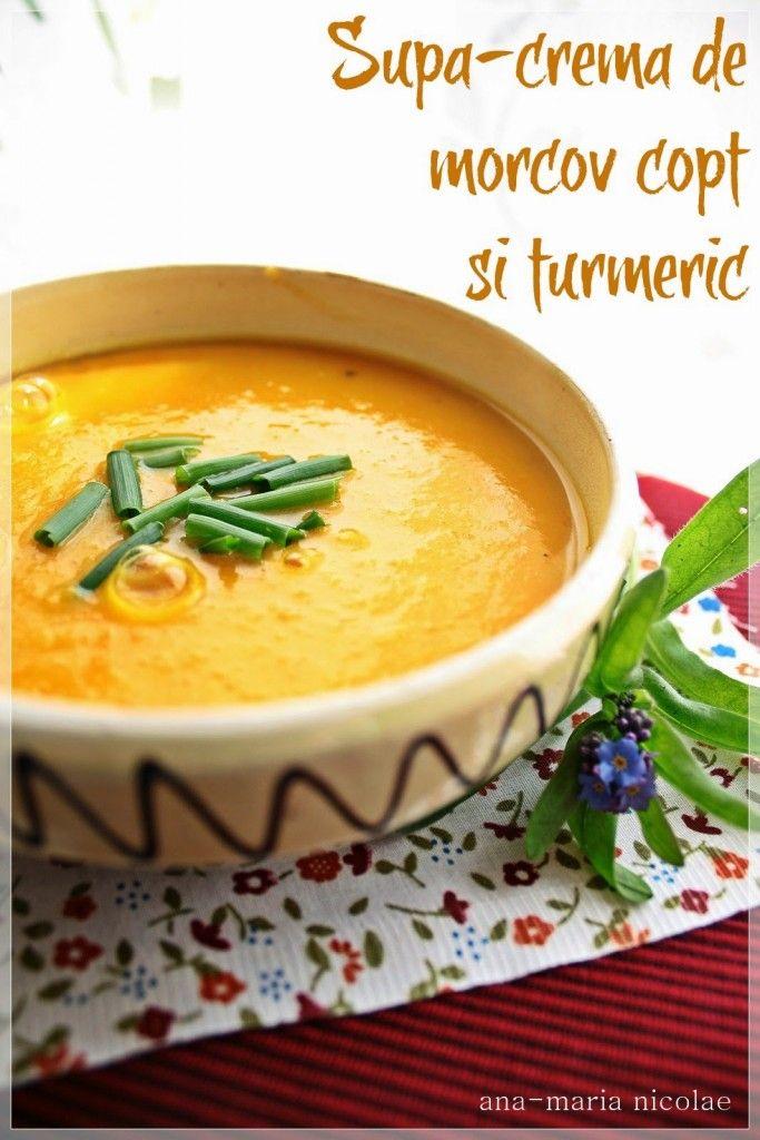 Supa-crema de morcov copt si turmeric - Ama Nicolae