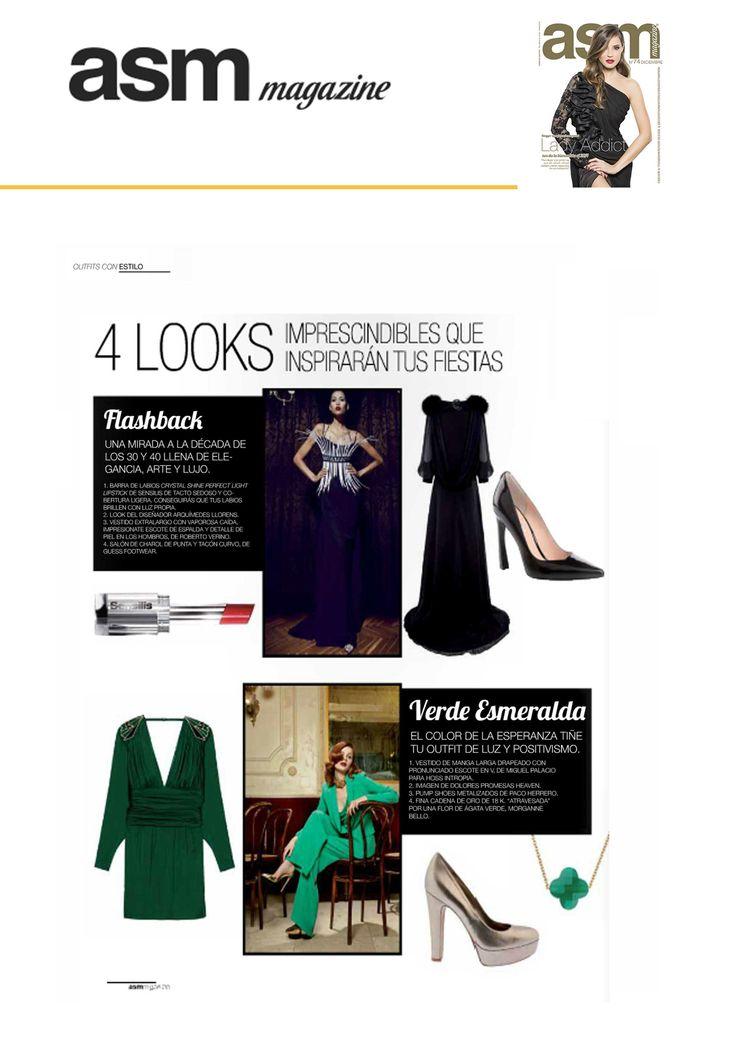 ARQUÍMEDES LLORENS  en la revista ASM de diciembre. #fashion #moda #madrid #lshowroom