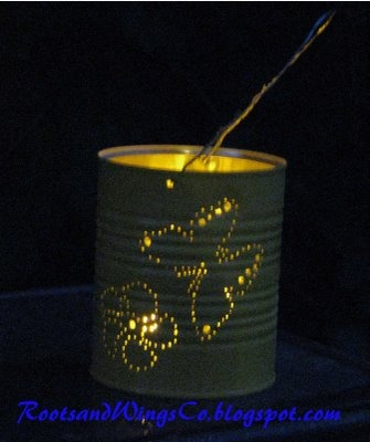 Formula Can Recycle-A Third Way: Craftiz National, Crafts Ideas, Can Lanterns, Crafts Gifts, Colors, Candles Holders, Cans Lanterns, Clever Ideas, Crafts Diy